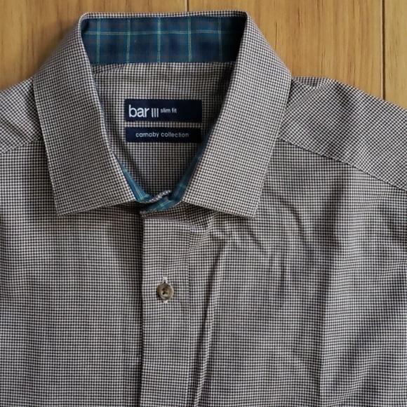 Bar III Other - Bar III Houndstooth Dress Shirt
